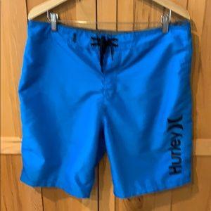 Hurley swim trunks, 34 waist